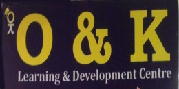 O & k Learning and Development Center Logo